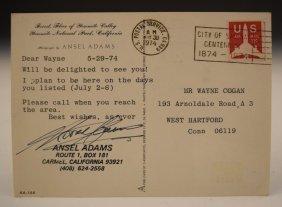 Ansel Adams Postcard