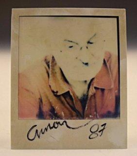 Arman Self Polaroid