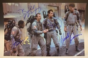 Ghostbusters Cast Signed Photo