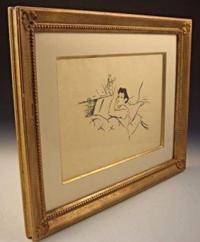Toulouse Lautrec Lithograph