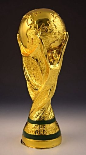 2014 Brazil World Cup Soccer Trophy