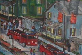 Lucas-Untitled-. 11-18-78. Paint On Canvas. 26 1/2