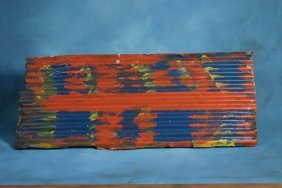 Mary T. Smith-Untitled-. Paint On Tin 36 X 15 1/2 �