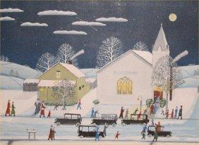 "Paul Patton-Outsider Art- ""Rex Mills Church Prayer M"