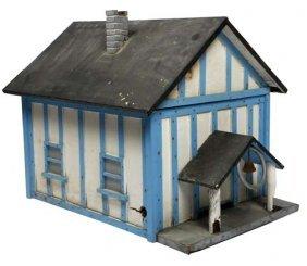"Bee House-""School House"". Paint On Wood Constructio"