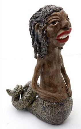 """J.G. Dunning, """"Penelope""""   Fired And Glazed Pottery"""