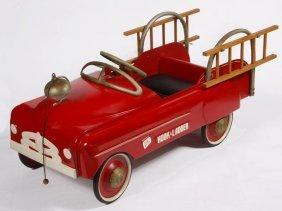 Pedal Car Fire Truck