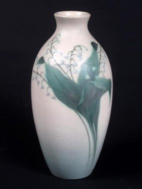 Rookwood Double Vellum Vase