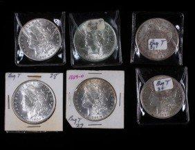 9. Six Silver Dollars