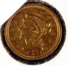 15. 1846-$2 � Gold Coin