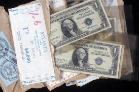 63. $30 Face Value Of $1 Silver Certificates, Federal R
