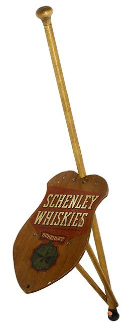 163. Schenley Whiskies Cane- Dated 1938- A Parade Seat