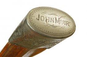 2. John Muir Historic Cane- Late 19th Century- An