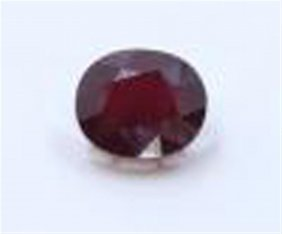 21 Ct & Up Ruby Oval Cut Loose Stone