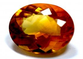 5.85 Ct & Up Citrine Oval Cut