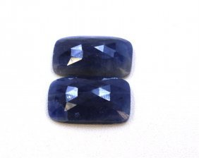 32 Ct & Up Natural Sapphire Slice Rose Cut Loose Stone