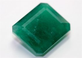 13.00 Ct & Up Emerald Loose Stone Square Very Good Cut