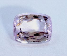 26 Ct & Up Kunzite Cushion Cut Ctw