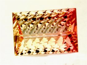 4.01 Ct Natural Pink Tourmaline / Fancy Cut
