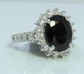 5.5g/diamond:0.89ct/sapphire:4.9ct