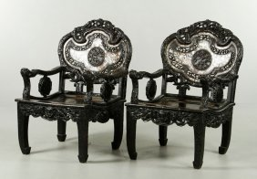 Pr. Chinese Armchairs