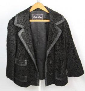 Rizik Bros. Ladies Persian Lamb Hide Coat