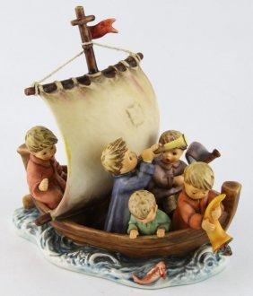 Hummel Porcelain Land In Sight Tmk-7 Figurine