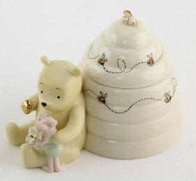 Lenox Porcelain Disney Winnie The Pooh Box