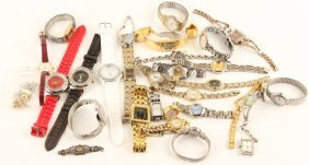 Mixed Lot Of Ladies Costume Watches