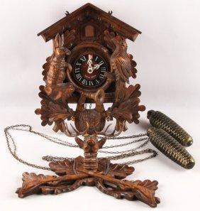 Wooden Case Swiss Cuckoo Clock