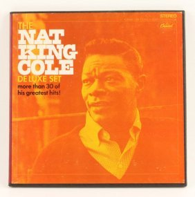Nat King Cole Deluxe Set Vinyl Lp Records