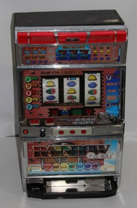 Aruze Corp. Rainbow Quest Japanese Slot Machine