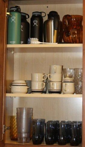 Lot | Kitchen Glassware & Chateau Dinnerware