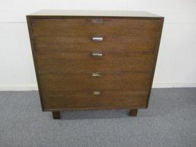 Herman Miller George Nelson Tall 5 Drawer Dresser