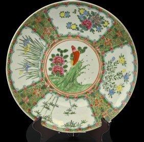 Floral Decorative Porcelain Plate