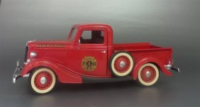 Vintage Amt 1936 Ford V8 Truck (made In France)