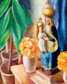 Gabor Jeno, 1893-1968, Studio Still-life, C. 1930