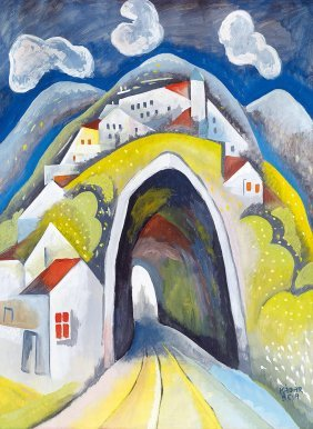 Kadar Bela , 1877-1956, Tunnel, Early 1920s