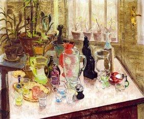 Biai Foglein Istvan, 1905-1974, Still-life With Colour