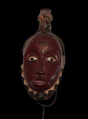 Ivory Coast Guro People 1980 Ad Red Pigmentation 39 Cm