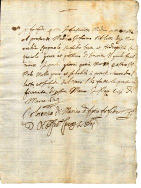Italy.medical Certificate 1623