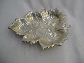 Magnificent Sterling Silver Dish
