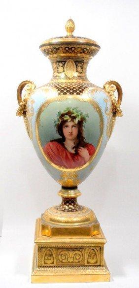 Antique Royal Vienna Wagner Vase