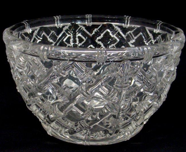 913 Tiffany Crystal Bowl Lot 913