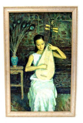 Xie Yuan Huang Oil Painting On Canvas