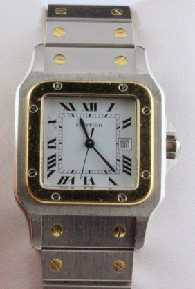 Cartier Santos Automatic Wristwatch