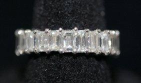 6.84ct. Diamond Eternity Band