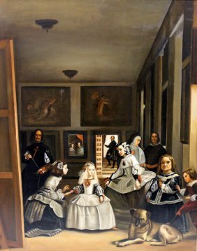 Old Master Style Oil Painting On Canvas