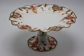 Royal Crown Derby Porcelain Compote