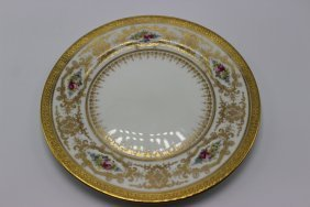 12 Pc. Couldon England Luncheon Plates